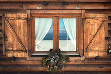 Tipical Rustic Window Chalet M...