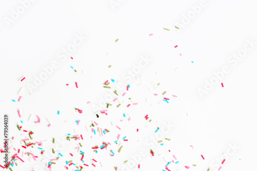 Colorful candy sprinkles Wallpaper Mural