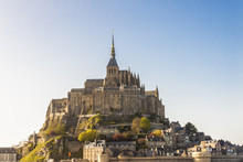 Mont Saint Michele - France, N...