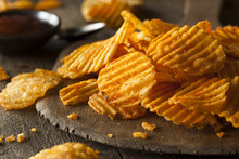 Hot Barbeque Potato Chips