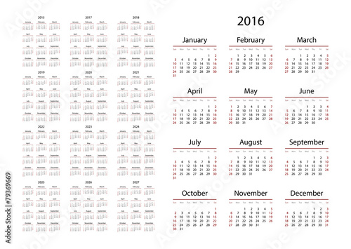 Images of Calendar For 2016 And 2020 And 2021