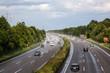 Wet german highway