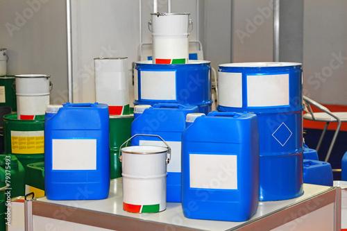 Fotografia  Chemical barrels
