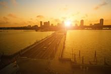 St. Petersburg At Sunset, Flor...