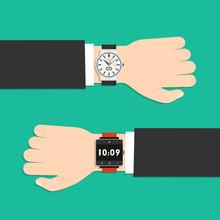 Analog Watch And Smart Watch O...