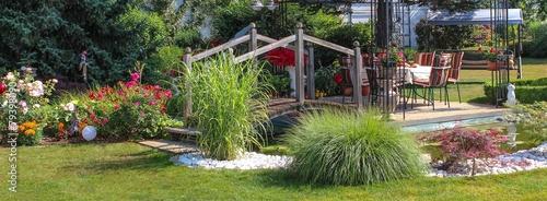 Fototapeta premium Gartenparadies