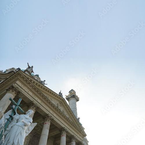 Fotografering  Wiener Karlskirche