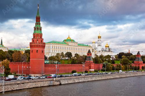 Fotografia Moscow Kremlin view