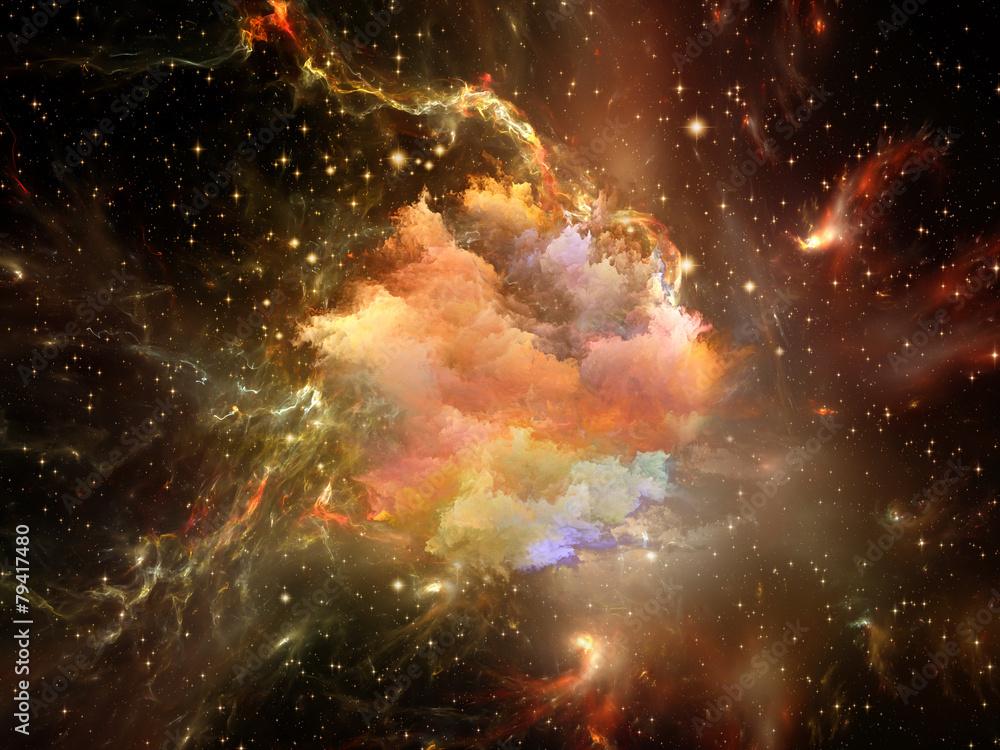 Fototapety, obrazy: Inner Life of Space