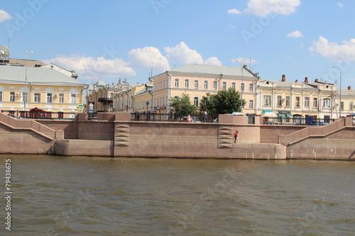 Foto op Aluminium Stad aan het water Астрахань