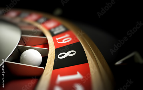 Fotografie, Obraz  roulette