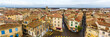 Panorama of the historic center of Arles - France
