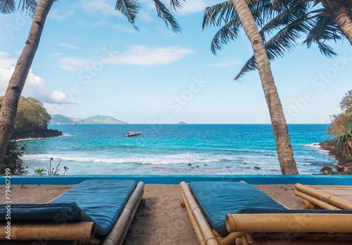 Foto op Aluminium Bali Secret beach