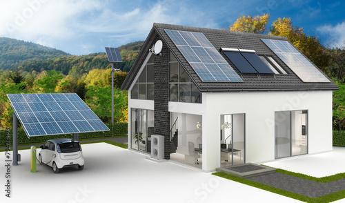 Dostawy energii w domu rodzinnym