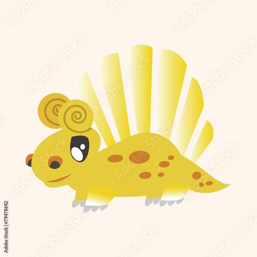 Photo  dinosaur cartoon theme elements vector,eps