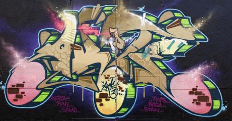 Panel Szklany Graffiti Graffiti