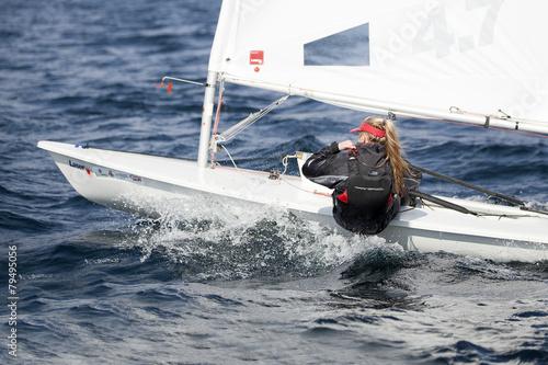 Staande foto Zeilen barca a vela