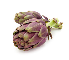 Purple Artichokes.