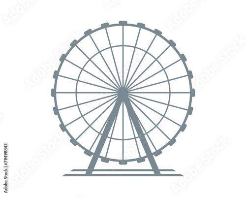 Fototapeta Ferris Wheel  obraz
