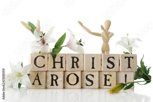 Christ Arose! Fototapeta