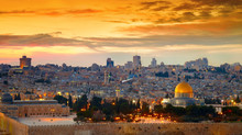 Panorama Of Jerusalem Old City...