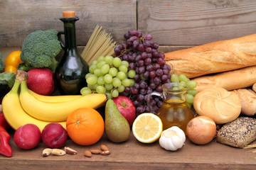 Fototapeta Various foods