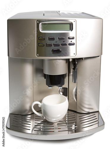 Photo Modern Coffee Machine