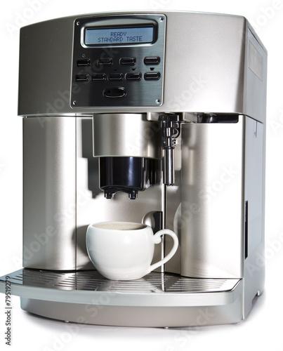 Leinwand Poster Modern Coffee Machine