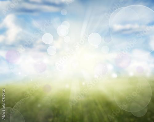Foto op Plexiglas Groene Abstract background