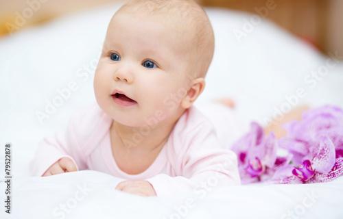 Fototapety, obrazy: Adorable baby