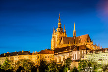Prague Castle During Evening H...