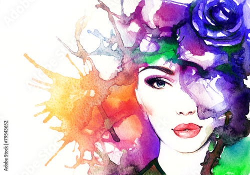 kobieta-face-abstract-akwarela-fashion-tla