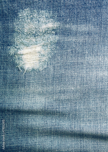 Fotobehang Stof Blue jeans texture and background