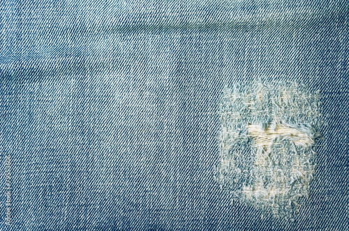 Fotobehang Stof Jeans texture and background