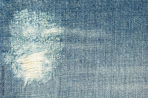 Fotobehang Stof Ripped jeans background