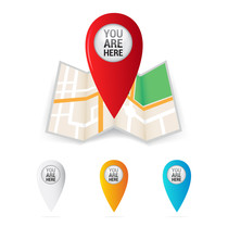 You Are Here Map Locator