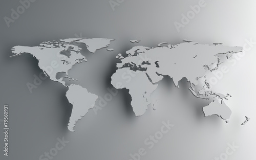 Fototapeta Mapa