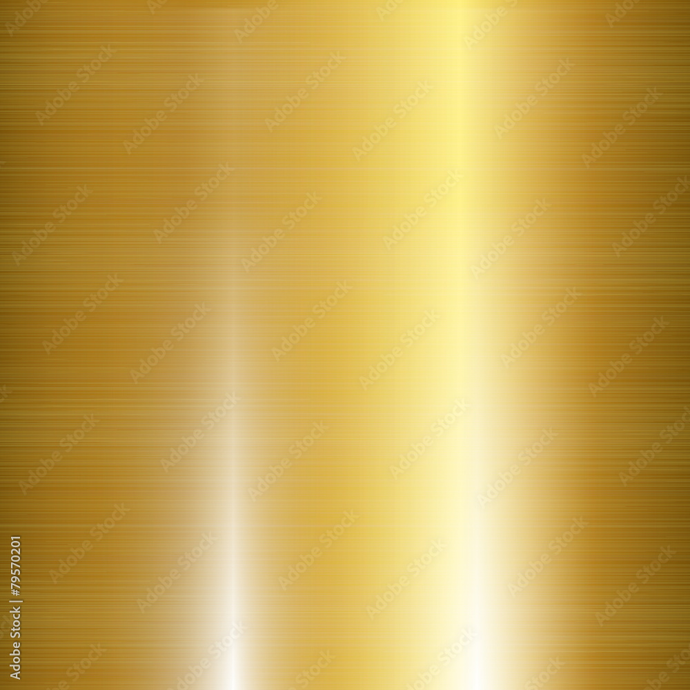 Fototapety, obrazy: Gold Metal Background
