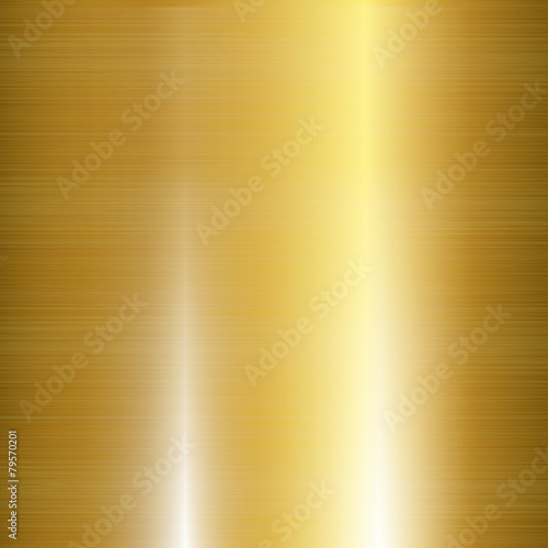 Gold Metal Background Wallpaper Mural