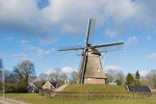 Aluminium Prints Mills Dutch windmill