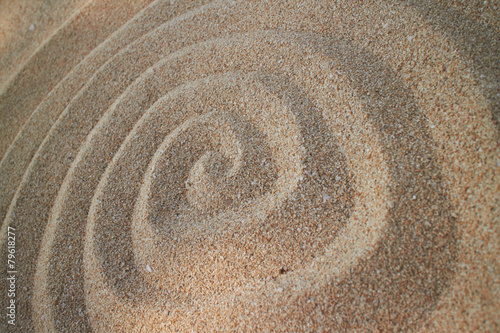 Acrylic Prints Stones in Sand sand background