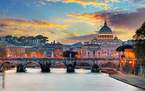 Poster Rome Vatican, Rome