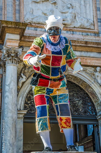 Foto op Canvas Piraten Venice Carnival