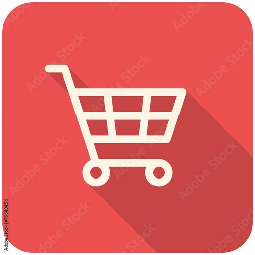 Obraz na plátně  Shopping Cart icon