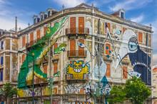 Lisbon Street Art. Graffiti Gr...
