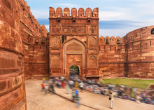 Agra Red Fort, Jaipur, India