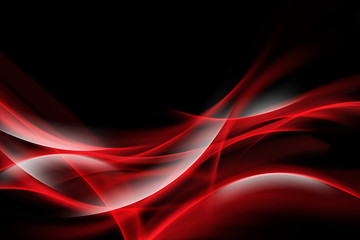 FototapetaElegant Red Waves