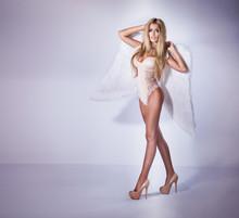 Sexy Beautiful Girl Like Angel.