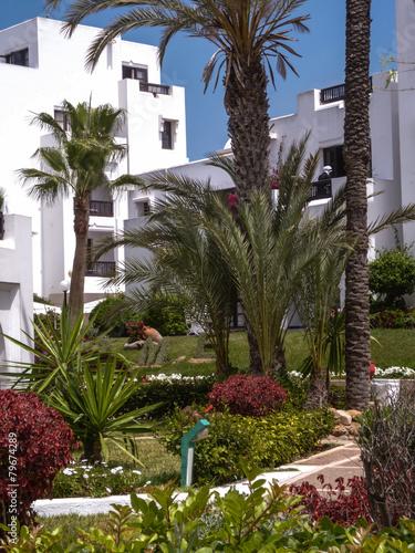 Poster de jardin Europe Méditérranéenne architecture maroc