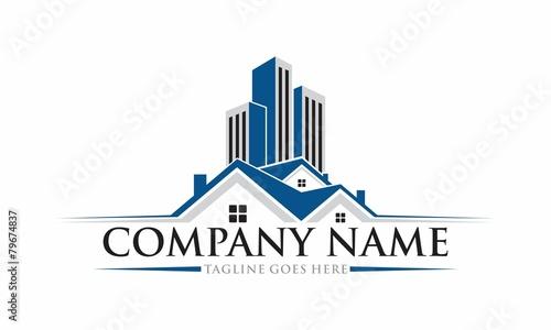 Photo Real Estate Vector Logo Design